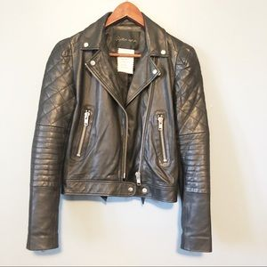 STELLA NOVA real leather jacket